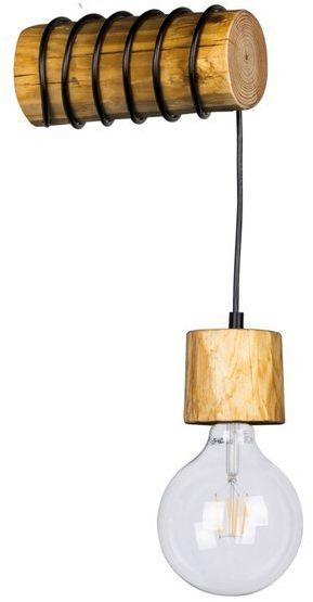 Kinkiet Trabo Pino drewno sosnowe kolor sosna bejcowana, 69379151