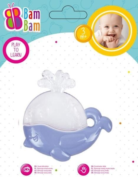 Gryzak Wieloryb transparentny BAM BAM 430912