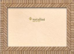 Natalini Marquetry ramka na zdjęcia wyprodukowana we Włoszech, tulipan, dąb, 12 cm x 18 cm