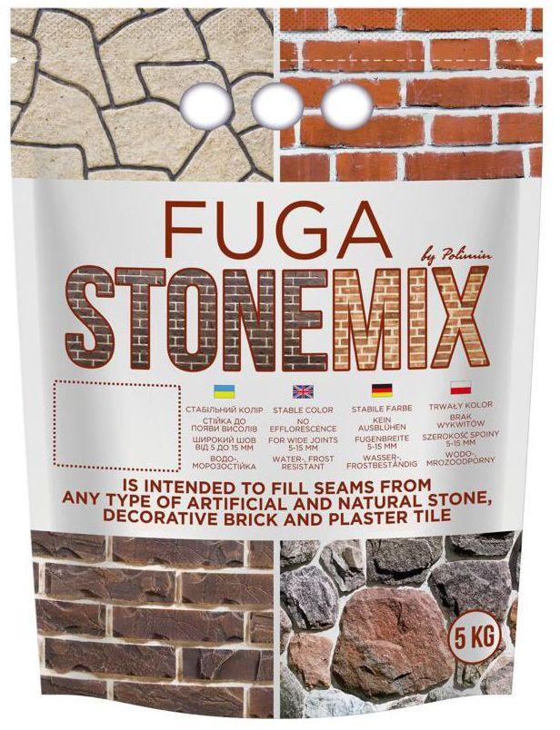 Fuga do kamienia Szara 5 kg STONEMIX