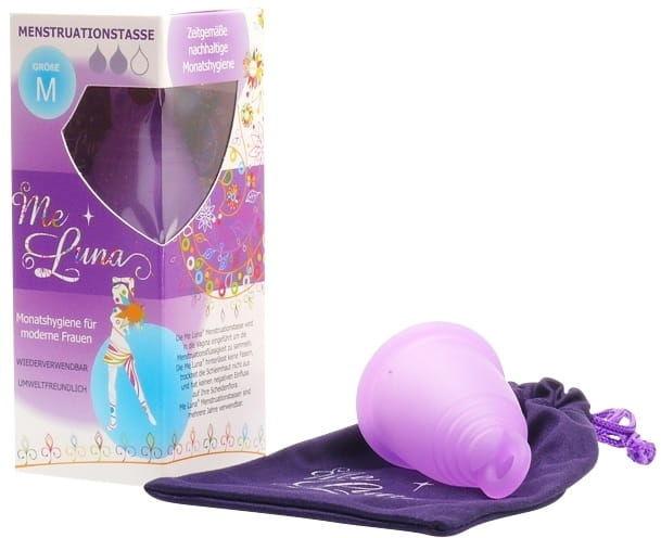 Kubeczek menstruacyjny fioletowy rozmiar m - me luna