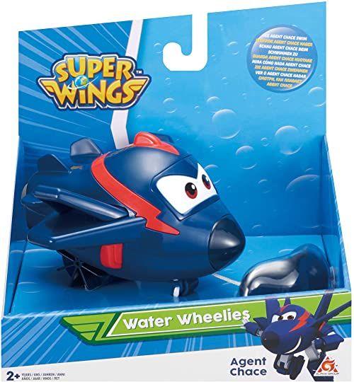 Super Wings EU721123 EU721123-Water Wheelies-Agent Chace