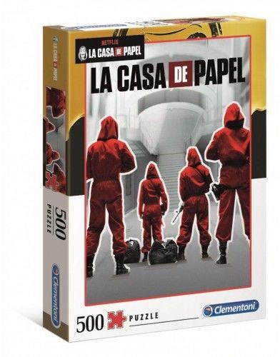 Puzzle 500 La Casa De Papel (Cle35084)