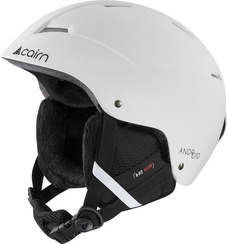 CAIRN kask zimowy narciarski/snowboardowy ANDROID mat white Rozmiar: 54-56,060516001