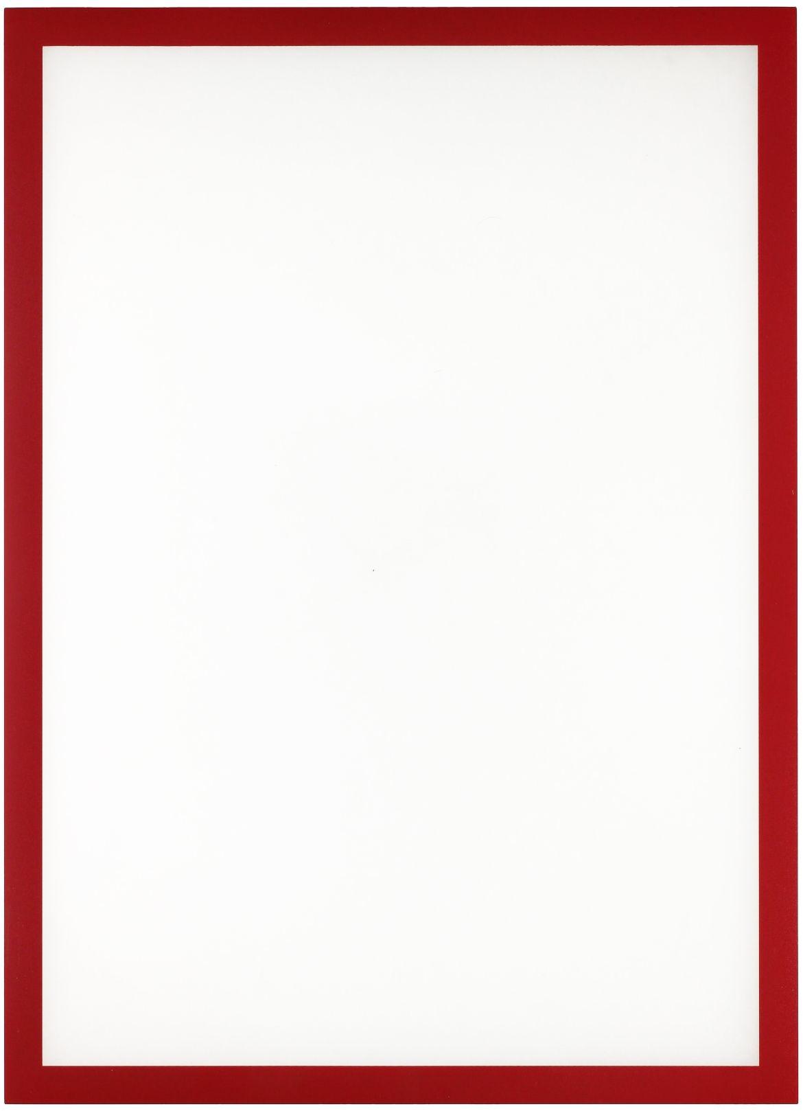Ramka magnetyczna A3 czerwona Magnetic