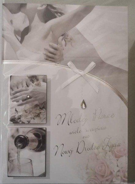 Karnet ślubny B6 Premium 41 + koperta