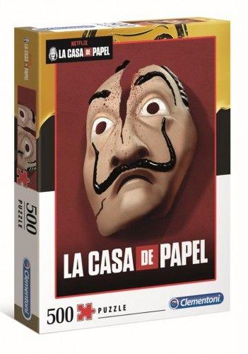 Puzzle 500 La Casa De Papel - Maska
