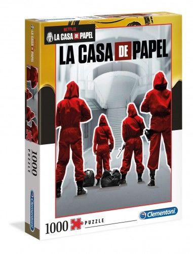 Puzzle 1000 La Casa De Papel (CLE39532)