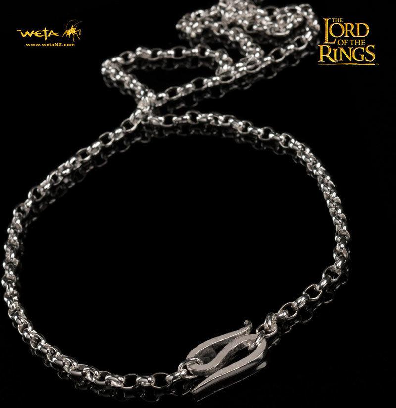 LOTR One Ring - srebrny a cuszek Froda