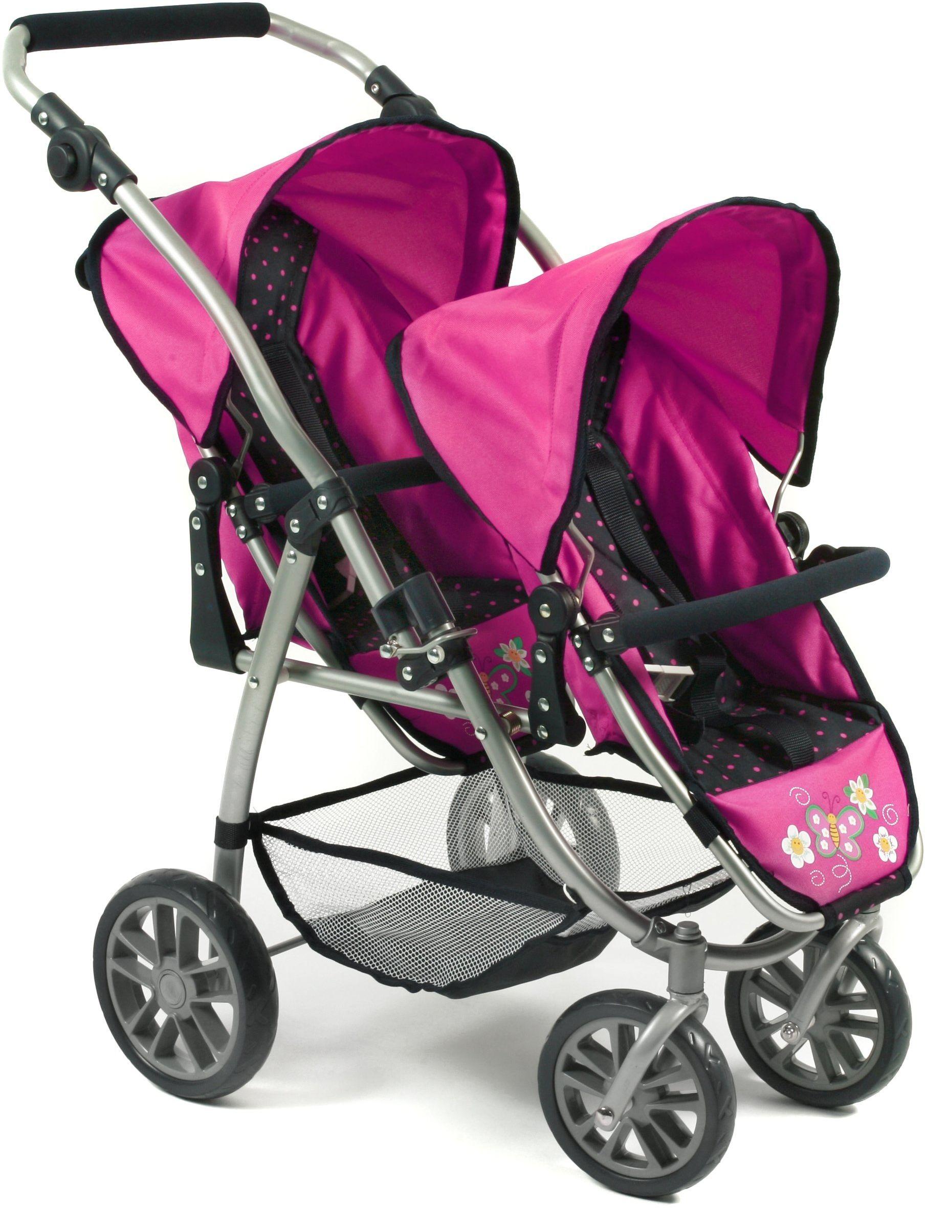 Bayer Chic 2000 689 12 wózek dla lalek, różowy