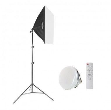 Lampa SOFTBOX 40x40 50W/100W LED
