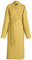 Das Jacquard Francais 22292 szlafrok Polygon bawełna żółty 35 x 28 cm
