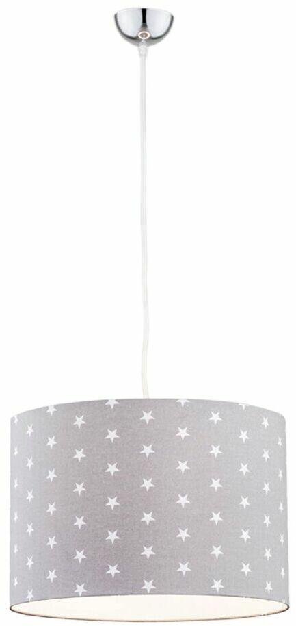 Lampa wisząca dziecięca MAGIC 4134 szara gwiazdki  Argon  Sprawdź kupony i rabaty w koszyku  Zamów tel  533-810-034