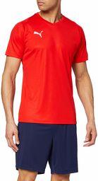 PUMA męska koszulka z dżerseju liga Puma Red/Puma White S