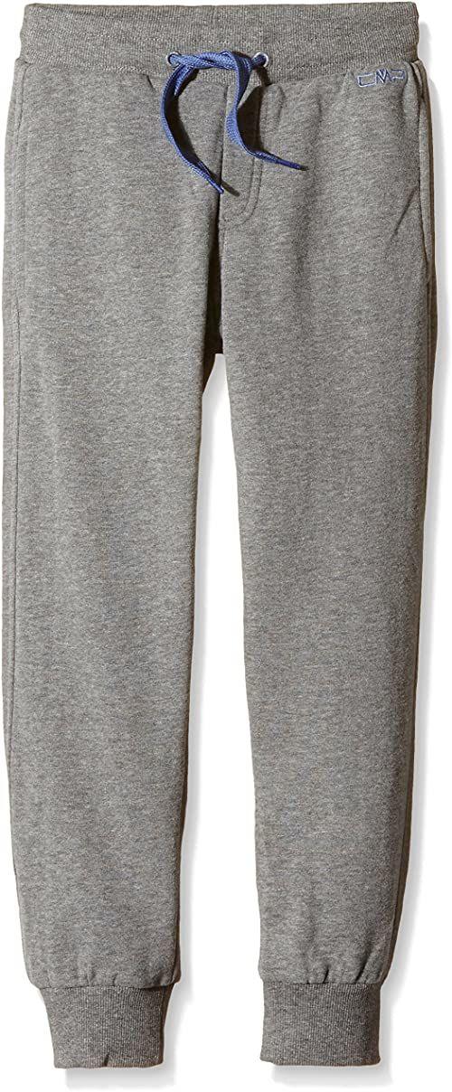 CMP Spodnie chłopięce spodnie treningowe, Fumo M, 110, 3D42054