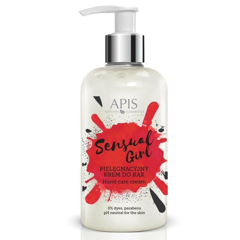 APIS Sensual Girl - Pielęgnacyjny krem do rąk 300ml