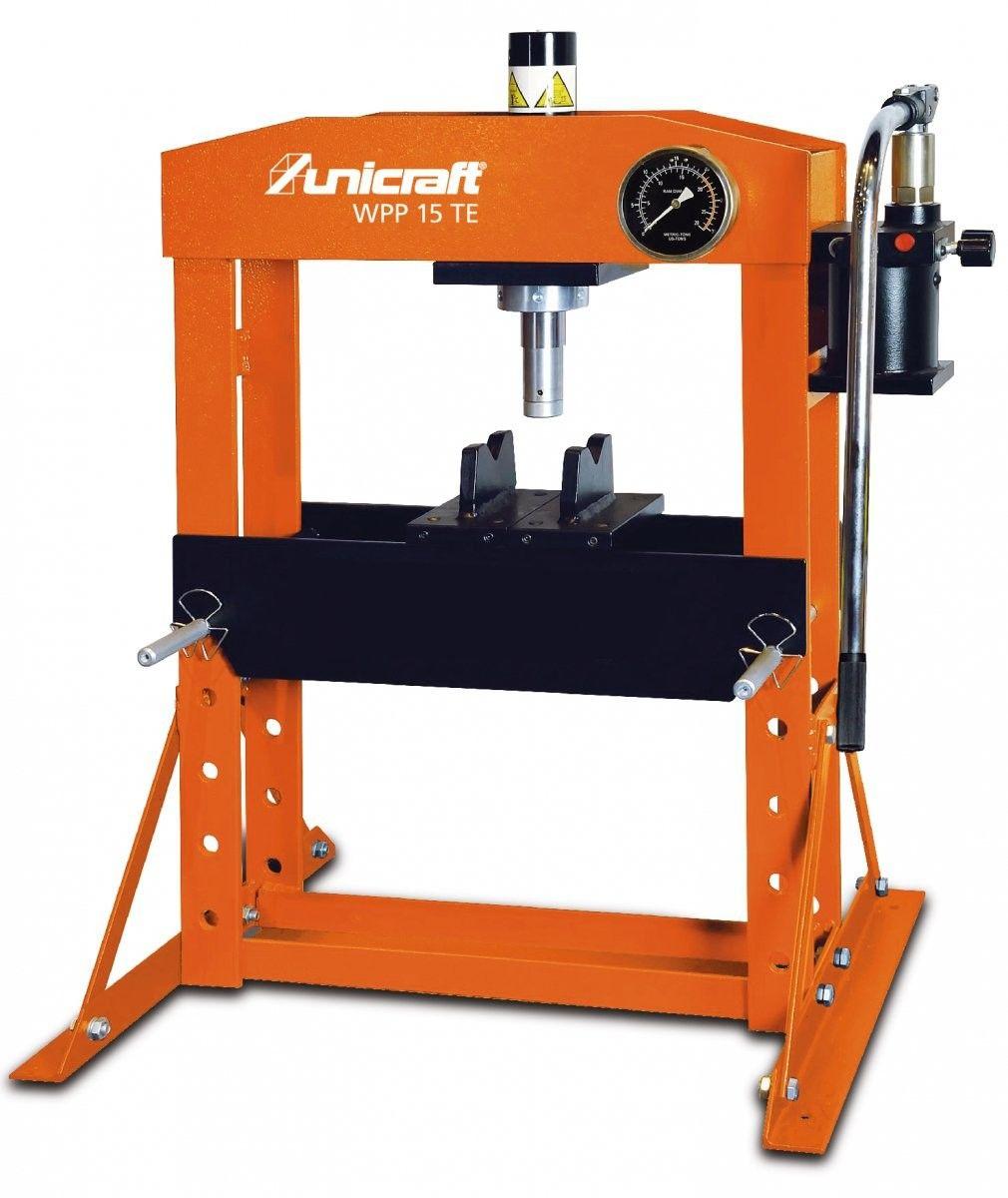 Hydrauliczna prasa warsztatowa Unicraft WPP 15 TE