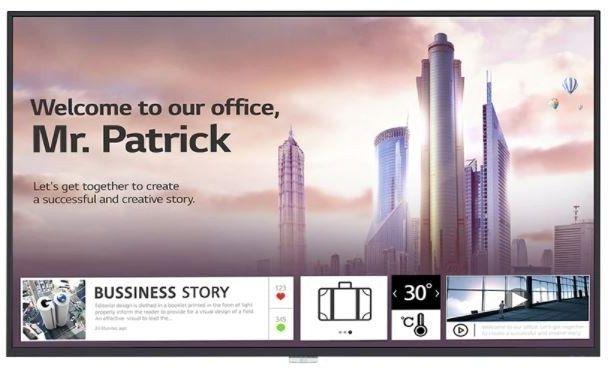 LG Electronics Monitor wielkoformatowy 43UH5F-H 500cd/m2 UHD 24/7