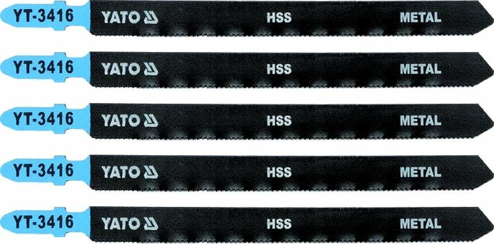 Brzeszczot do wyrzynarki typ t, 21 tpi, do metalu, 5 szt Yato YT-3416 - ZYSKAJ RABAT 30 ZŁ