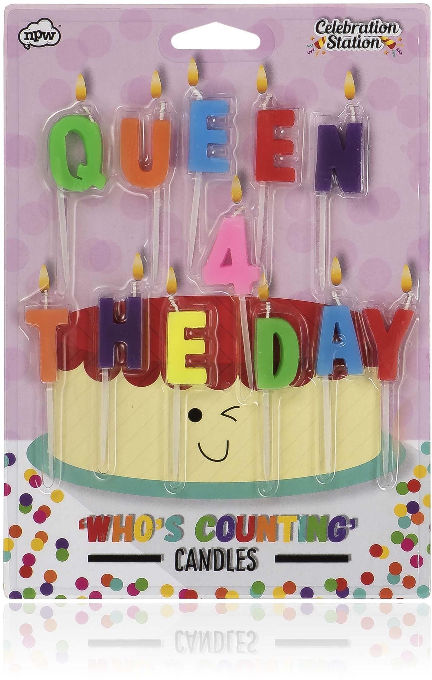 NPW urodziny ciasto świece - królowa 4 dzień dekoracja tortu świętowanie naród