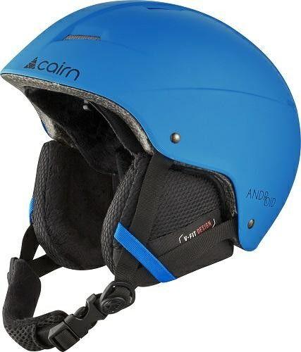 CAIRN kask zimowy narciarski/snowboardowy ANDROID blue Rozmiar: 54-56,060516032