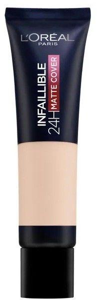 LOréal Paris Infallible 24H Matte Cover podkład o długotrwałym działaniu odcień 110 Rose Vanilla 35 ml