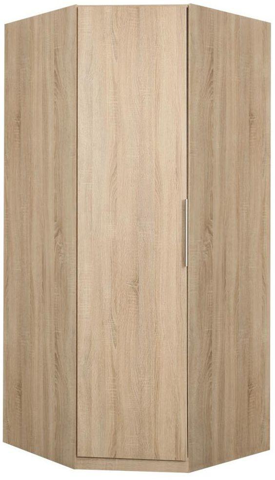 Szafa ubraniowa narożna CADIXO CDXS91 94.2 x 212.9 x 94.2 cm FORTE