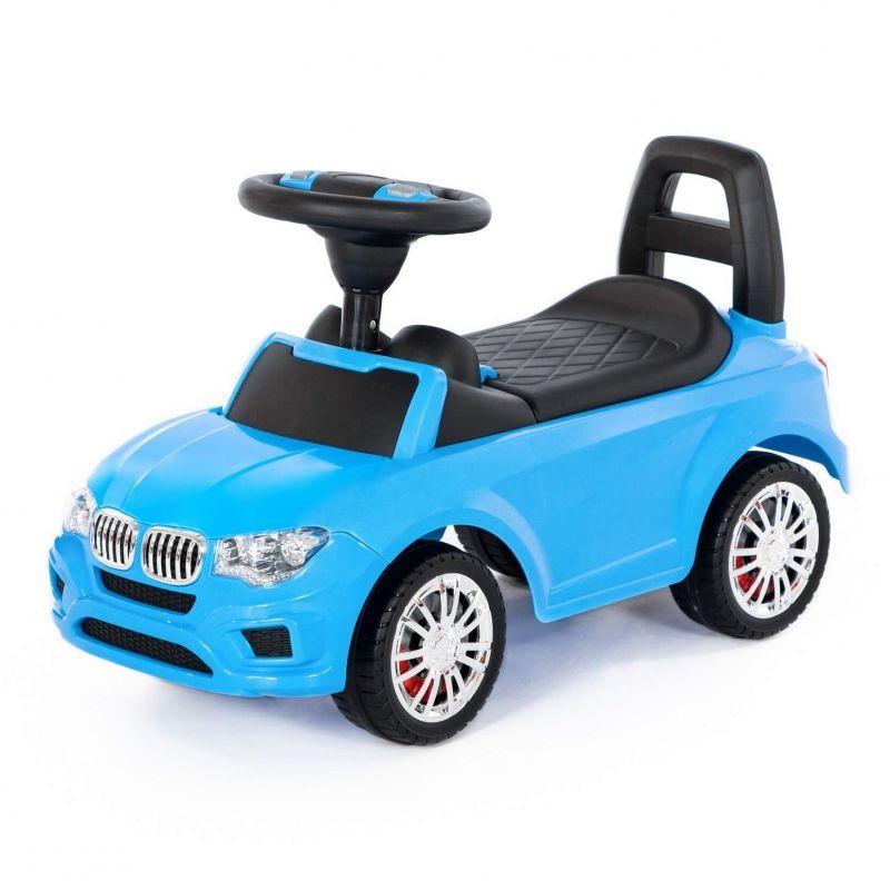 Wader QT Samochód Jeździk Super Car Niebieski LK