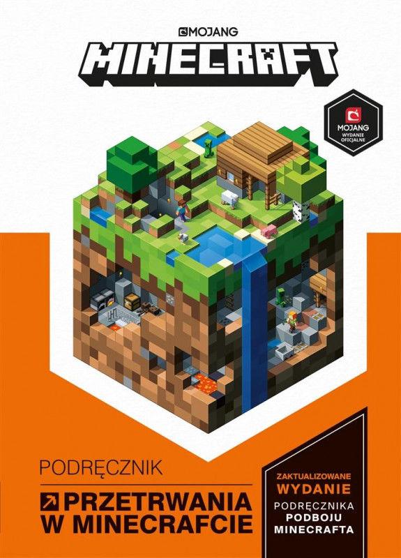 Minecraft. Podręcznik przetrwania w Minecrafcie ZAKŁADKA DO KSIĄŻEK GRATIS DO KAŻDEGO ZAMÓWIENIA