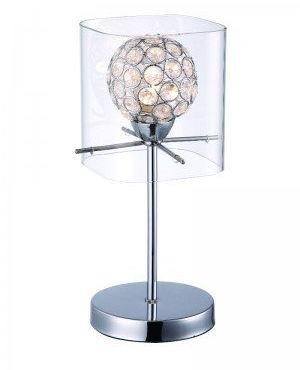 Lampka biurkowa Spark 1 pł. transparentna