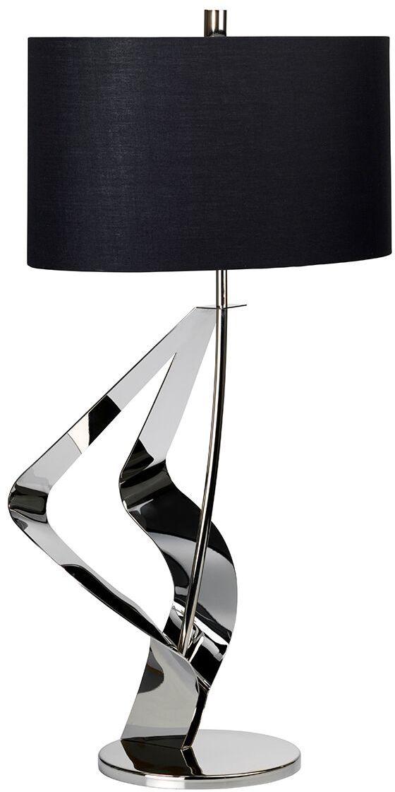 Lampa stołowa Ribbon Elstead Lighting nowoczesna oprawa w kolorze czarnym