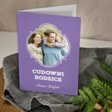 Cudowni rodzice - kartka z życzeniami