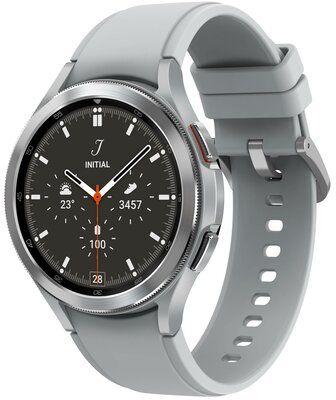 Smartwatch SAMSUNG Galaxy Watch 4 Classic SM-R890NZ 46mm Srebrny Dogodne raty! I ODBIERZ CASHBACK DO 300 ZŁ ORAZ DOSTĘP DO TIDAL PREMIUM DARMOWY TRANSPORT!