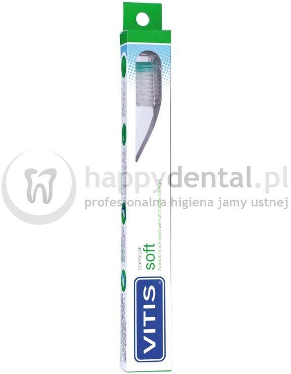 Dentaid VITIS Soft 1szt. - szczoteczka do codziennego szczotkowania zębów z miękkim włosiem