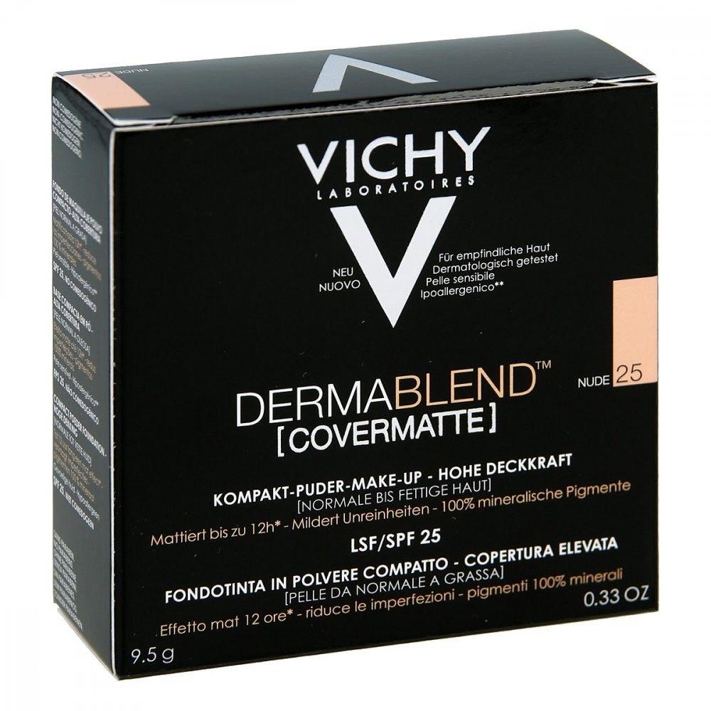 Vichy Dermablend Covermatte Puder 25 Nude