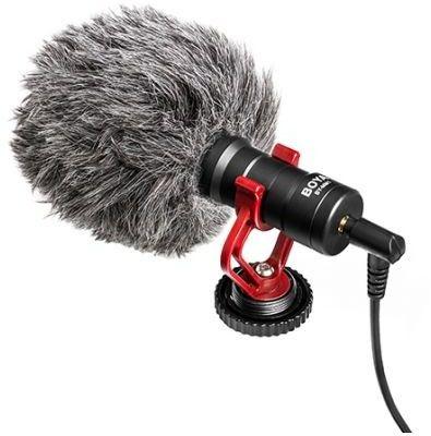 BOYA BY-MM1+ - Superkardioidalny mikrofon pojemnościowy Shotgun AUTORYZOWANY SKLEP 30 DNI NA ZWROT