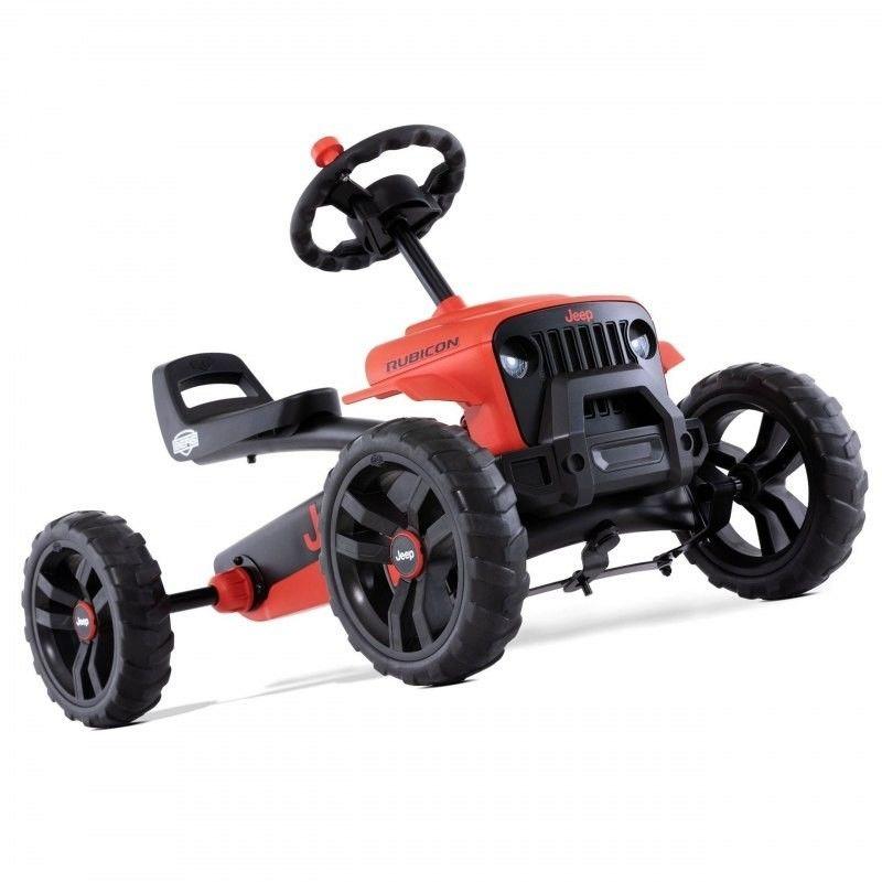 Berg Gokart Na Pedały Buzzy Jeep Rubicon Dla Dzieci