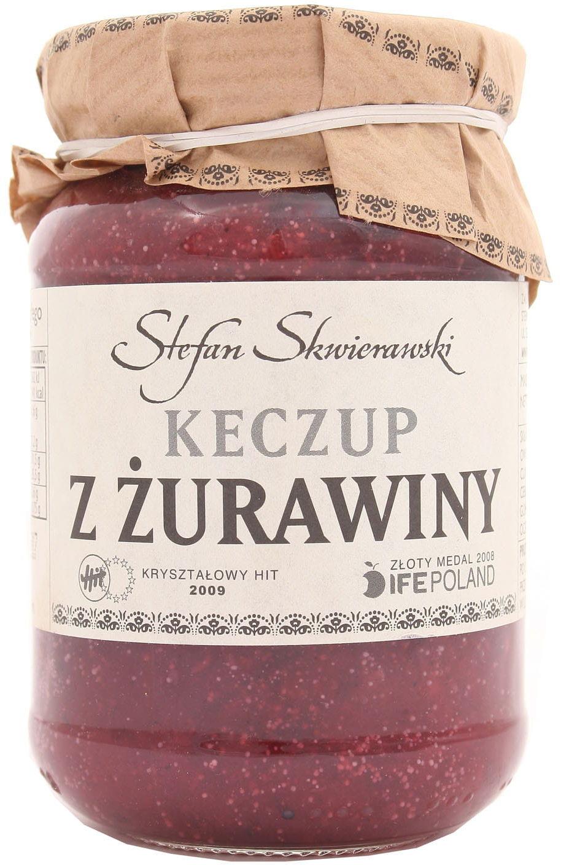 Keczup z żurawiny - Skwierawski - 200g