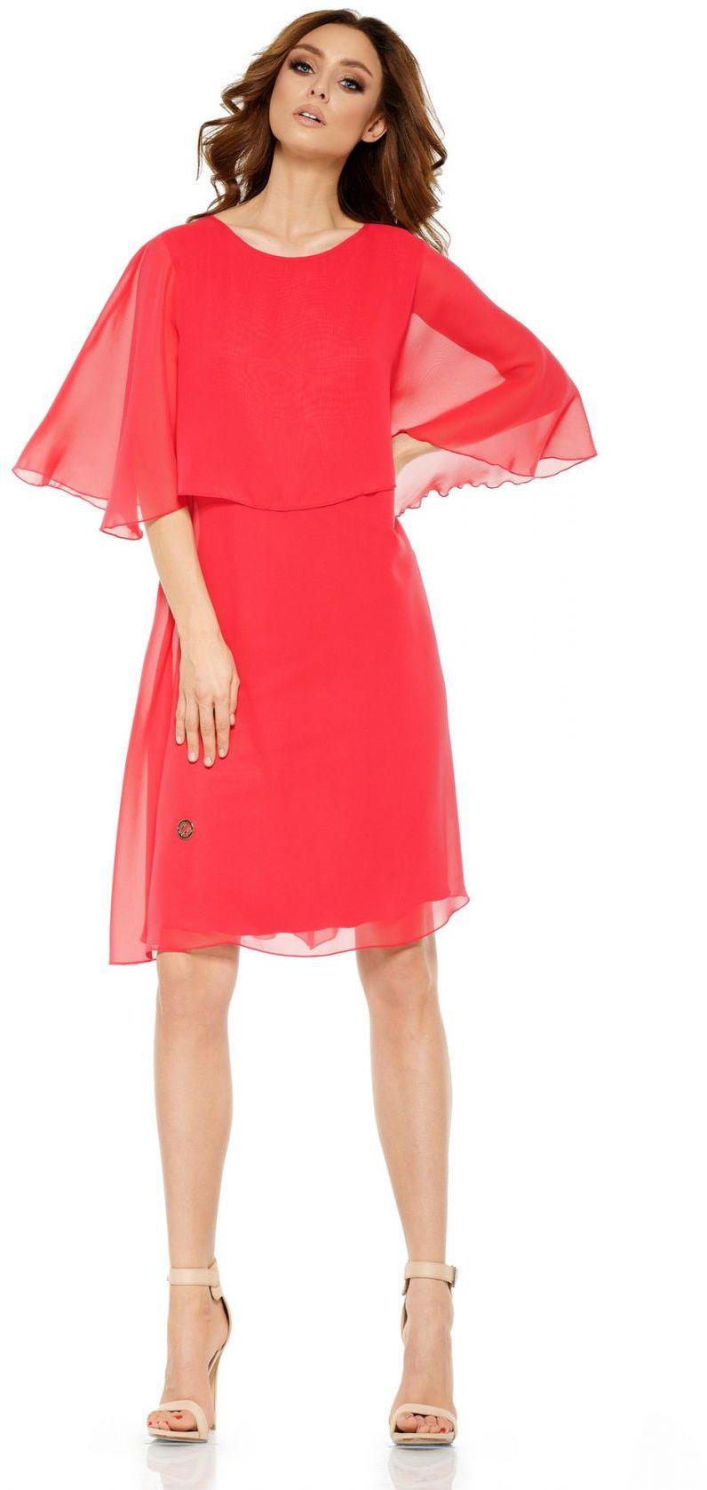 1 Sukienka L261 malina PROMO
