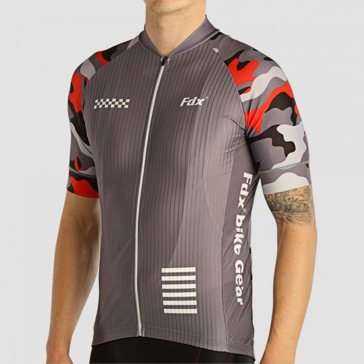 FDX 1890 męska koszulka rowerowa szara Rozmiar: L,FDX_1890_koszulka_szara