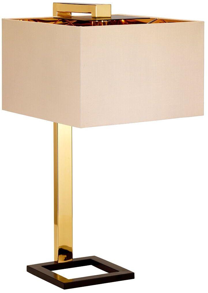 Lampa stołowa Plein Elstead Lighting elegancka oprawa w nowoczesnym stylu