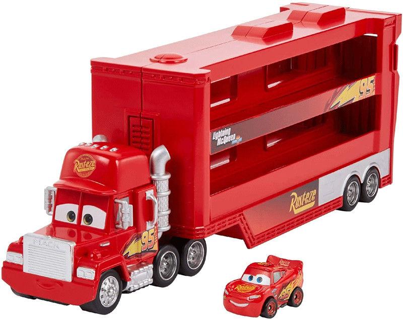 Mattel Mikroautka - Auta Cars Maniek transporter GNW34
