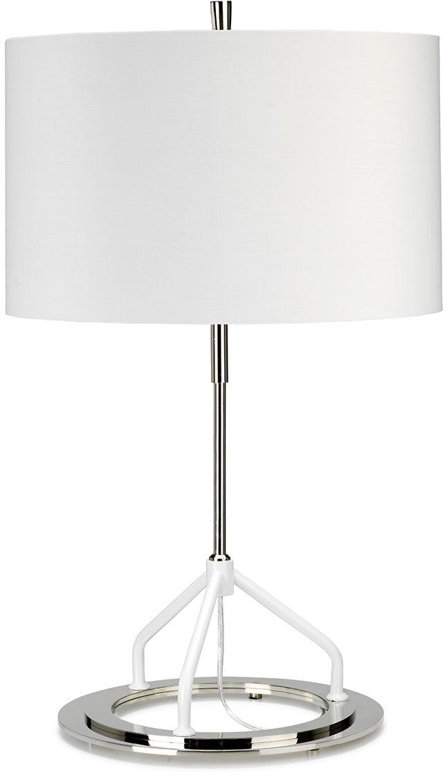 Lampa stołowa Vicenza White Elstead Lighting elegancka oprawa w nowoczesnym stylu