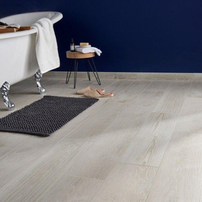 Gres Pine wood Colours 20 x 80 cm biały 1,28 m2