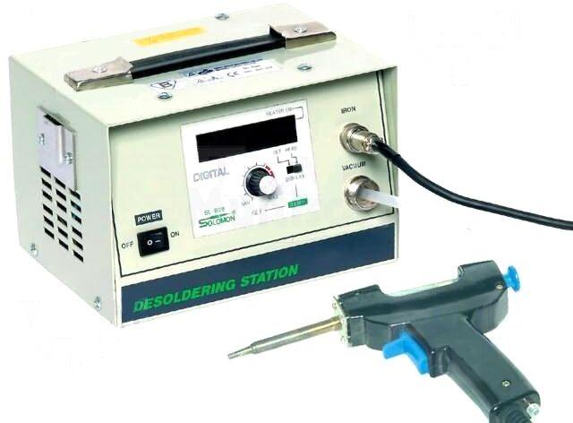 Stacja rozlutowująca Solomon cyfrowa 50W 210 480 C 230VAC