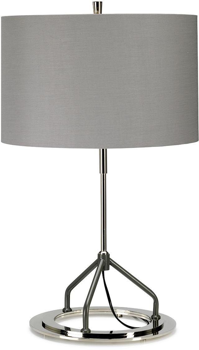 Lampa stołowa Vicenza Grey Elstead Lighting elegancka oprawa w nowoczesnym stylu