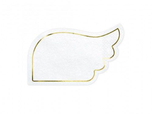 Serwetki papierowe kształt Skrzydła, 20 szt.