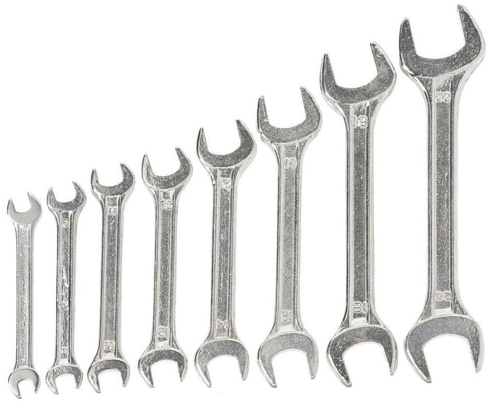 Zestaw kluczy płaskich 6 - 22 mm 34008H 8 szt. MEGA