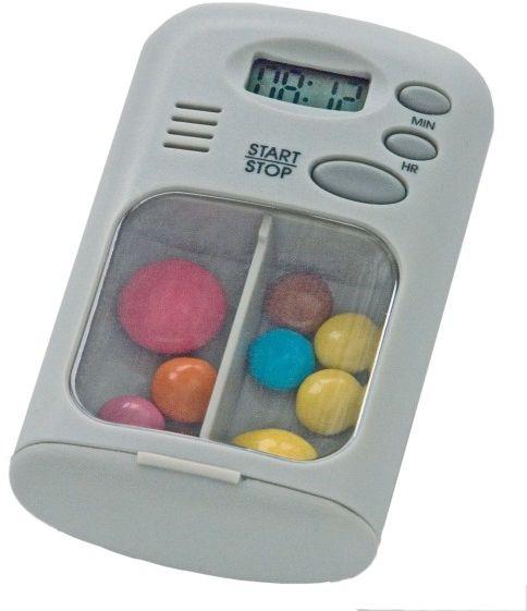 Pojemnik na leki z alarmem