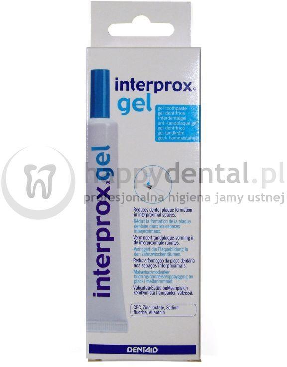 Dentaid INTERPROX-Gel 20ml - żel do pielęgnacji przestrzeni międzyzębowych